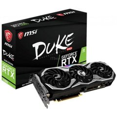 Видеокарта MSI GeForce RTX 2080 DUKE 8G OC